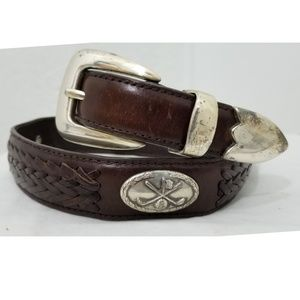 Laced Golf Belt